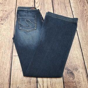 Silver Flare Jeans Size 29 | Sarah Super Strech